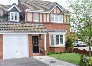 Thumbnail 4 bed detached house for sale in Claudius Road, North Hykeham, Lincoln