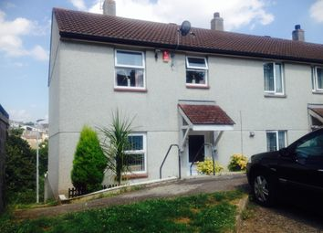 Thumbnail 3 bed end terrace house to rent in Prouse Rise, Saltash