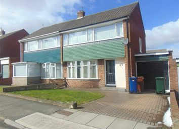 Thumbnail 3 bed semi-detached house to rent in Chapel House Drive, Chapel House, Newcastle Upon Tyne
