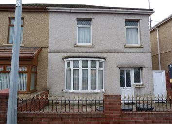 Thumbnail 3 bed semi-detached house for sale in Nantydd Terrace, Llanelli