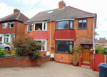 Thumbnail 3 bedroom semi-detached house for sale in Tessall Lane, Rednal, Birmingham