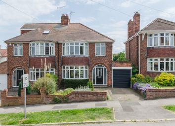 Thumbnail 3 bed semi-detached house to rent in Manor Drive North, York