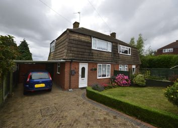 Thumbnail 2 bed semi-detached house for sale in St Johns Road, Hoo, Rochester