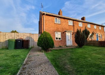 Thumbnail 3 bed semi-detached house for sale in Station Road, Pulham St. Mary, Diss