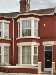 Thumbnail 3 bedroom terraced house to rent in Liscard Road, Wavertree, Liverpool