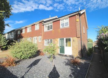 Thumbnail 3 bed end terrace house for sale in Swallow Close, Eastbourne