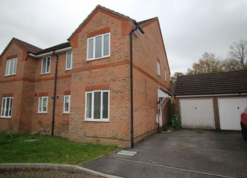 Thumbnail 3 bed semi-detached house to rent in Sorrel Drive, Whiteley, Fareham