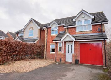 Thumbnail 4 bed detached house for sale in Chatsworth Green, Basingstoke