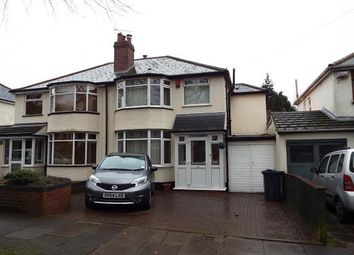 Thumbnail 3 bedroom semi-detached house for sale in Hillyfields Road, Birmingham, West Midlands