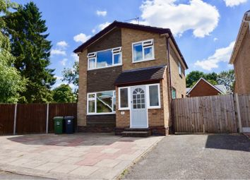 Thumbnail 3 bed detached house for sale in Caernarvon Close, Shepshed