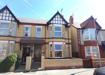 Thumbnail 4 bed semi-detached house for sale in Sandringham Avenue, Rhyl, Ddenbighshire