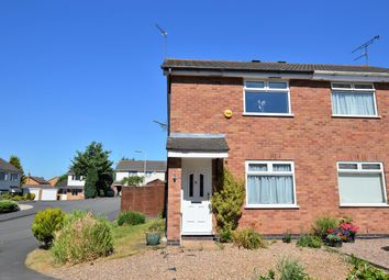 Thumbnail 2 bed semi-detached house for sale in Blackthorn Road, Glenfield, Leicester