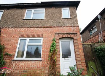 Thumbnail 2 bed semi-detached house for sale in Woodstock Road, Leicester