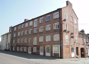 Thumbnail 1 bed flat to rent in Flat Old Warehouse, Chapel Street, Chapel Street, Newtown, Powys