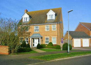 Thumbnail 5 bed detached house for sale in St Johns Drive, Corby Glen, Lincolnshire