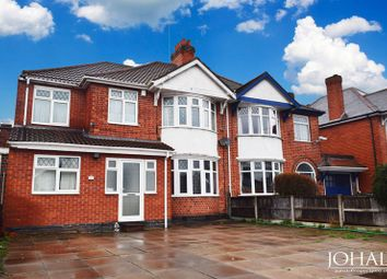 Thumbnail 5 bed semi-detached house for sale in Narborough Road South, Leicester, Leicestershire