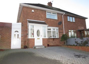 Thumbnail 2 bed semi-detached house for sale in Wolmer Road, Asmore Park Wednesfield, Wolverhampton