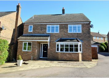 Thumbnail 4 bed detached house for sale in Badgers Close, Bugbrooke, Northampton