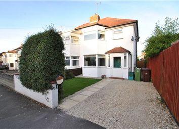Thumbnail 3 bed semi-detached house for sale in Naunton Way, Leckhampton, Cheltenham
