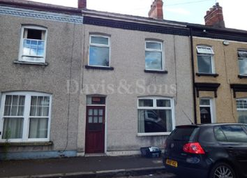 Thumbnail 2 bedroom terraced house for sale in Livingstone Place, Maindee, Newport.