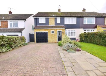 Thumbnail 4 bed semi-detached house for sale in Walker Avenue, Fyfield, Ongar, Essex