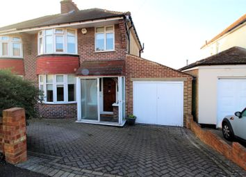 Thumbnail 3 bed semi-detached house for sale in Coniston Road, Barnehurst, Kent