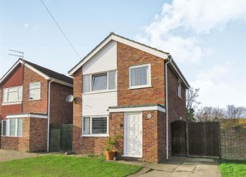 Thumbnail 3 bed detached house for sale in Shawley Road, Sawtry, Huntingdon