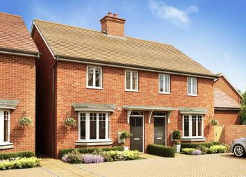 "Thumbnail 3 bed terraced house for sale in ""Strathmore"" at Broughton Crossing, Broughton, Aylesbury"