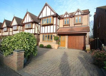 Thumbnail 4 bed detached house for sale in Canewdon View Road, Ashingdon, Rochford