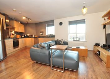 Thumbnail 2 bed flat for sale in Abbots Croft, Roakes Avenue, Addlestone, Surrey