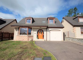 Thumbnail 3 bedroom detached house for sale in Westburn Gardens, Inverurie