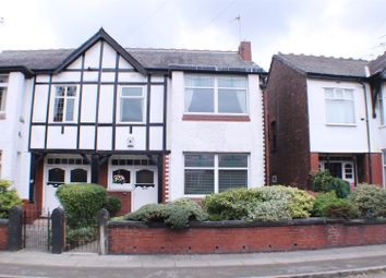 Thumbnail 3 bed semi-detached house for sale in Ellastone Road, Salford