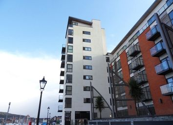 Thumbnail 1 bed flat to rent in Meridian Wharf, Trawler Road, Swansea.