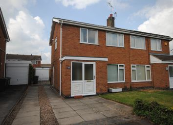 Thumbnail 3 bed semi-detached house to rent in Howard Close, Loughborough