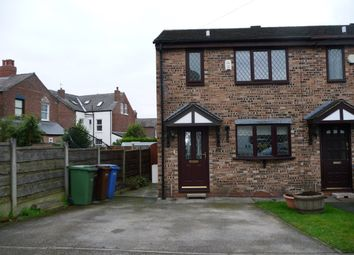 Thumbnail 3 bedroom terraced house to rent in Highfield Road, Marple, Stockport