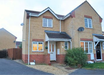 Thumbnail 2 bed semi-detached house for sale in Auden Close, Swindon