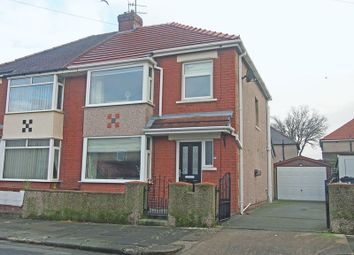 Thumbnail 3 bed semi-detached house for sale in South Grove, Morecambe
