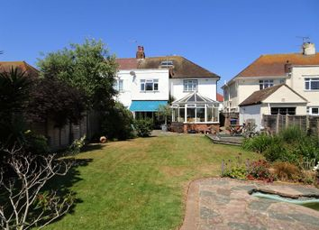 Thumbnail 4 bed semi-detached house for sale in Nutley Drive, Goring-By-Sea, Worthing