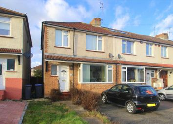 Thumbnail 3 bed end terrace house for sale in Monks Close, Lancing, West Sussex