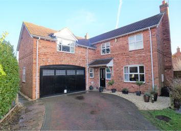 Thumbnail 5 bed detached house for sale in Northfield Rise, Saxilby