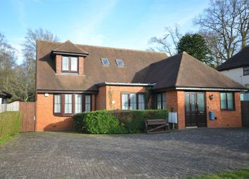 Thumbnail 4 bed detached house for sale in Mytchett Road, Mytchett, Surrey