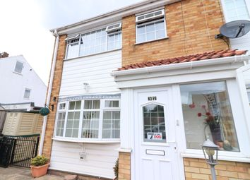 Thumbnail 3 bed end terrace house for sale in Newbury Avenue, Great Coates, Grimsby