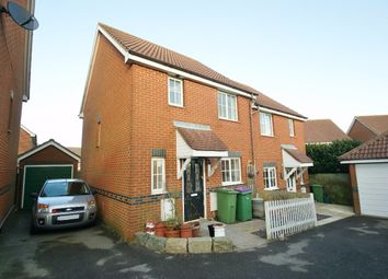 Thumbnail 3 bed semi-detached house for sale in Mitchell Avenue, Hawkinge, Folkestone