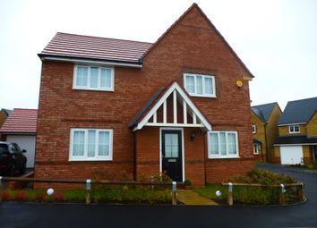 Thumbnail 4 bedroom detached house to rent in Stanley Close, Corby