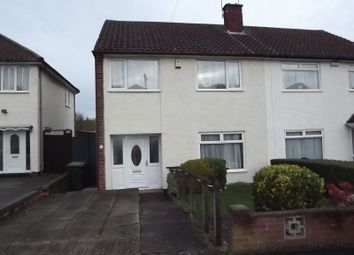 Thumbnail 3 bed semi-detached house for sale in Stonehouse Crescent, Wednesbury