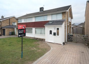 Thumbnail 3 bed semi-detached house for sale in Vanbrugh Drive, York
