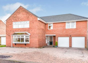 Thumbnail 5 bed detached house for sale in Coniston Close, South Wootton, King's Lynn