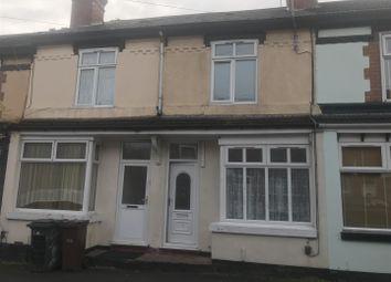 Thumbnail 3 bedroom terraced house to rent in Merridale Street West, Wolverhampton