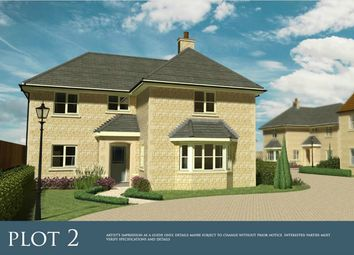 Thumbnail 4 bedroom detached house for sale in Spalding Road, Deeping St. James, Peterborough