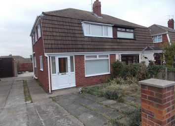 Thumbnail 3 bed semi-detached house to rent in Dorman Road, Eston, Middlesbrough